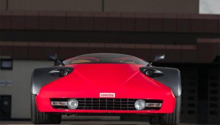 Ferrari Conciso, esemplare unico in vendita all'asta da RM Sotheby's - Foto 9 di 18