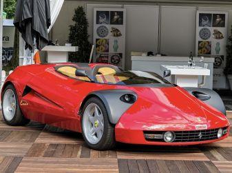 Ferrari Conciso, esemplare unico in vendita all'asta da RM Sotheby's
