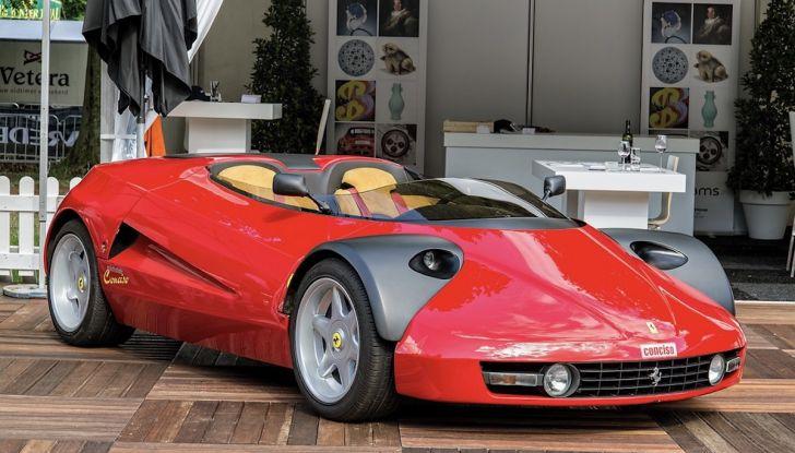 Ferrari Conciso, esemplare unico in vendita all'asta da RM Sotheby's - Foto 1 di 18