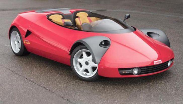 Ferrari Conciso, esemplare unico in vendita all'asta da RM Sotheby's - Foto 14 di 18