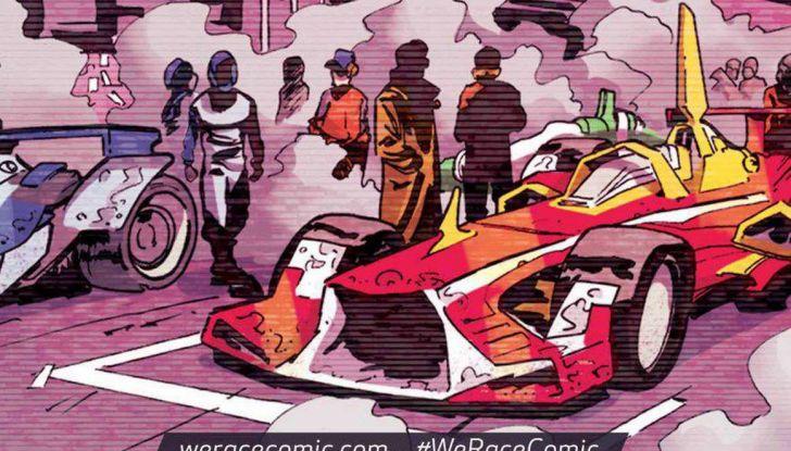 Ferrari pubblica un fumetto sul mondo delle corse - Foto 2 di 5
