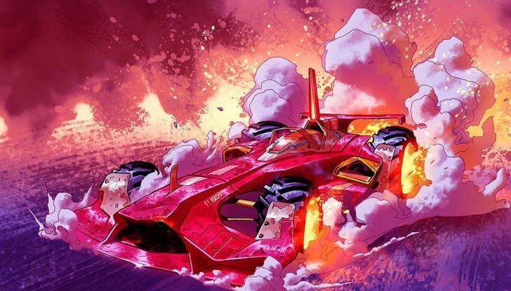 Ferrari pubblica un fumetto sul mondo delle corse - Foto 4 di 5