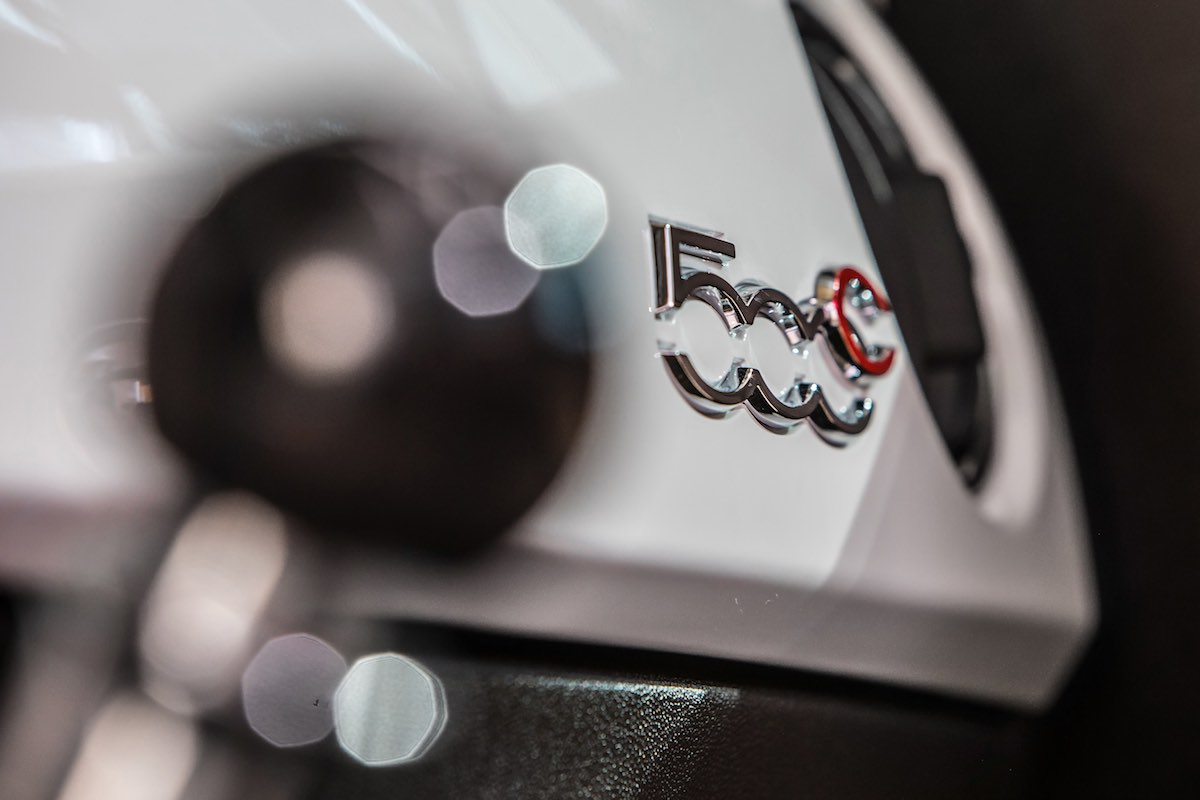Fiat 500 Collezione, dettaglio