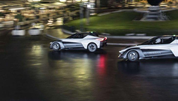 Formula E, Nissan festeggia il debutto con un evento a Los Angeles - Foto 8 di 9