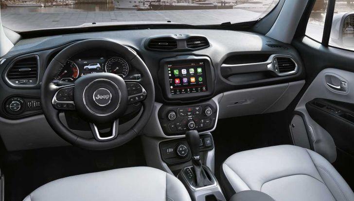 Jeep Renegade 2018: tutti i segreti dell'infotainment di nuova generazione - Foto 13 di 14