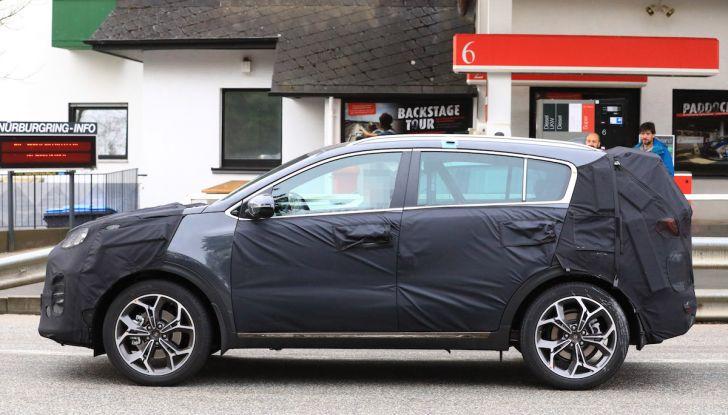 Kia Sportage 2019: nuova evoluzione per il SUV bestseller in Italia - Foto 19 di 22