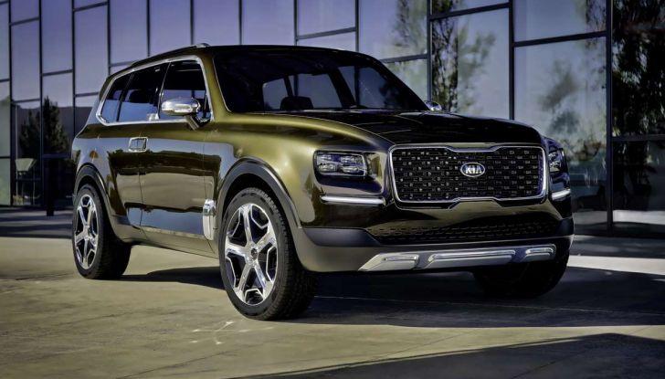 Kia Telluride, il SUV full size in arrivo nel 2020 - Foto 2 di 10