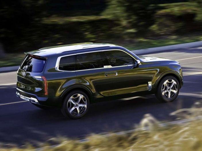 Kia Telluride, il SUV full size in arrivo nel 2020 - Foto 3 di 10
