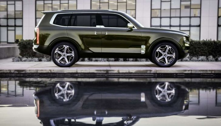 Kia Telluride, il SUV full size in arrivo nel 2020 - Foto 4 di 10