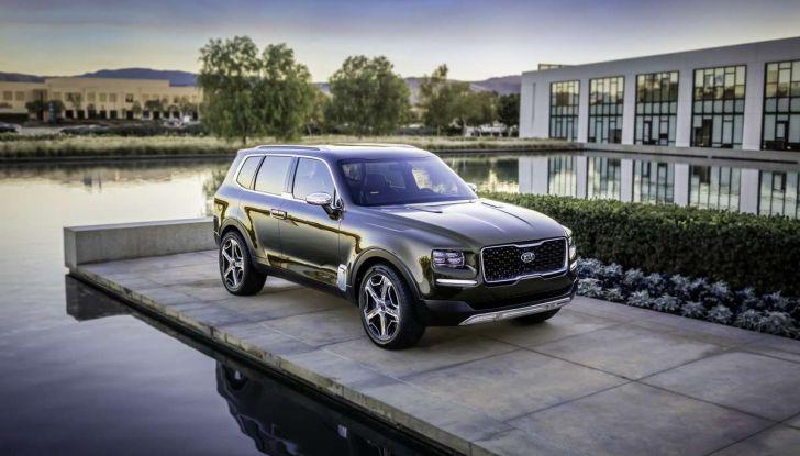Kia Telluride premiata come World Car of the Year 2020 - Foto 5 di 10