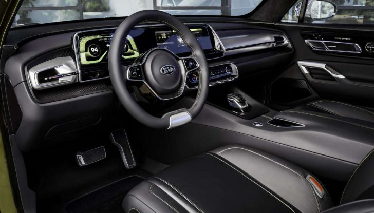 Kia Telluride, il SUV full size in arrivo nel 2020 - Foto 7 di 10