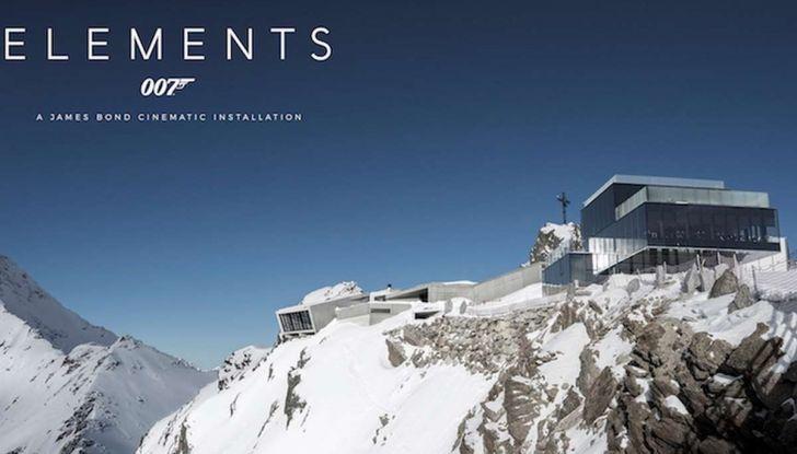 Le auto di James Bond 007 in mostra a Solden in Austria - Foto 3 di 6