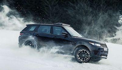 Le auto di James Bond 007 in mostra a Solden in Austria