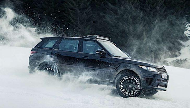 Le auto di James Bond 007 in mostra a Solden in Austria - Foto 1 di 6