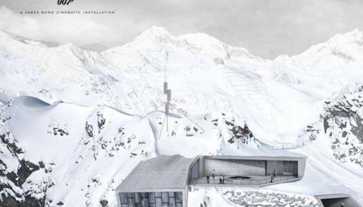 Le auto di James Bond 007 in mostra a Solden in Austria - Foto 5 di 6