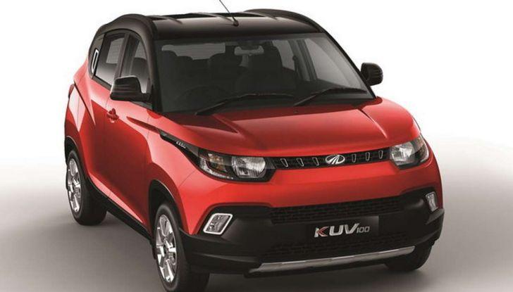 Mahindra KUV100, il SUV economico debutta in italia - Foto 9 di 9