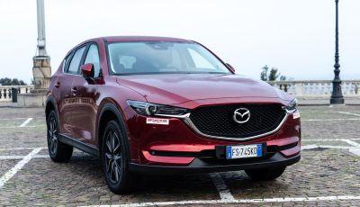 Mazda CX-5 2018, prova su strada: due versioni a confronto