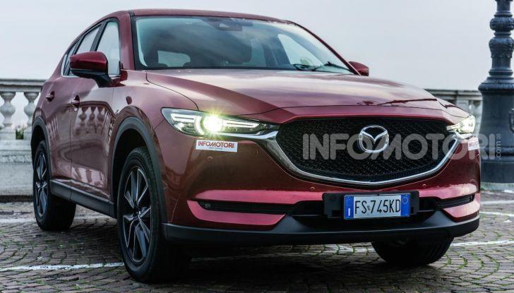 Mazda CX-5 2018, prova su strada: due versioni a confronto - Foto 8 di 34