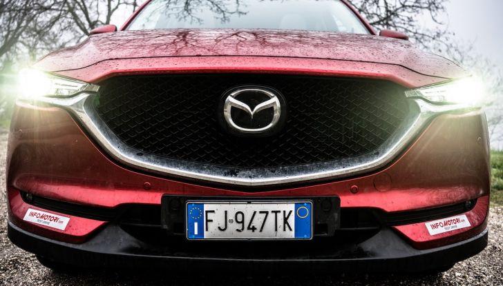 Mazda CX-5 2018, prova su strada: il 2.2 da 175CV con AWD [VIDEO] - Foto 13 di 28