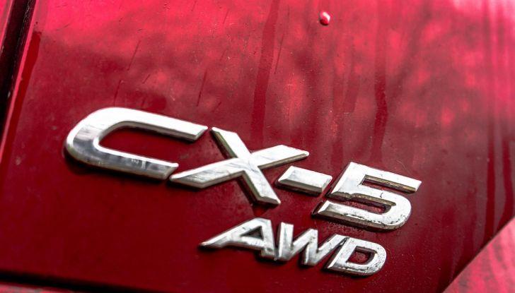 Mazda CX-5 2018, prova su strada: il 2.2 da 175CV con AWD [VIDEO] - Foto 25 di 28