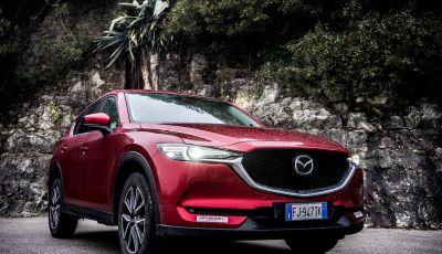 Mazda CX-5 2018, prova su strada: il 2.2 da 175CV con AWD [VIDEO]
