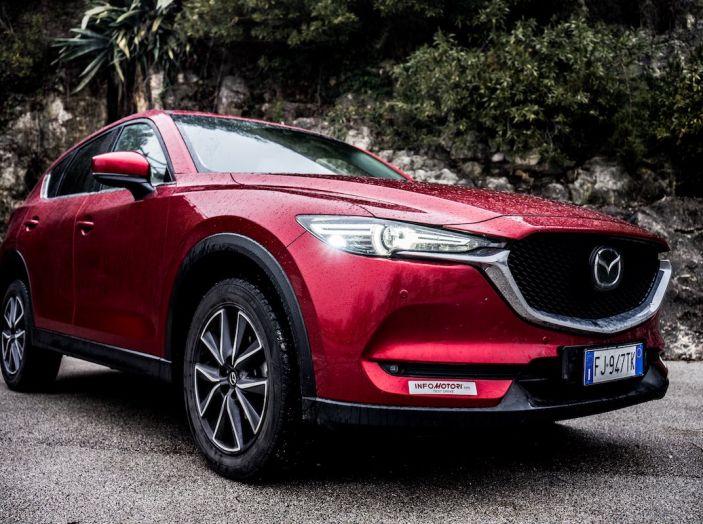 Mazda CX-5 2018, prova su strada: il 2.2 da 175CV con AWD [VIDEO] - Foto 9 di 28