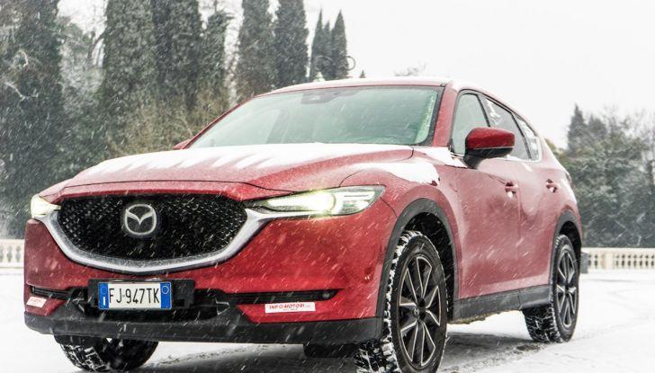 Nuova Mazda CX-5 con motori benzina e Diesel Euro 6d-Temp - Foto 11 di 34
