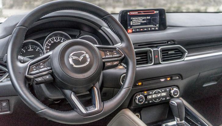 Nuova Mazda CX-5 con motori benzina e Diesel Euro 6d-Temp - Foto 20 di 34