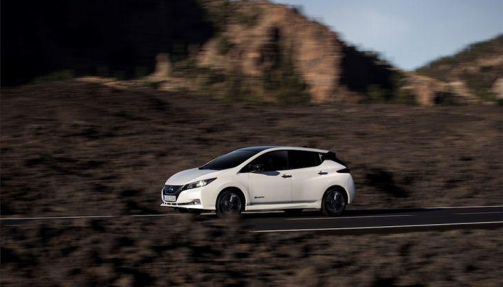 Nissan Leaf 2018, prova su strada della seconda serie: spazio al futuro - Foto 3 di 15
