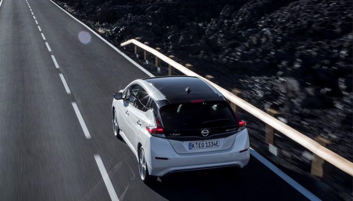 Nissan Leaf 2018, prova su strada della seconda serie: spazio al futuro - Foto 5 di 15