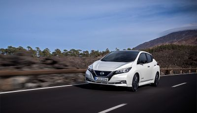 Nissan Leaf 2018, prova su strada della seconda serie: spazio al futuro