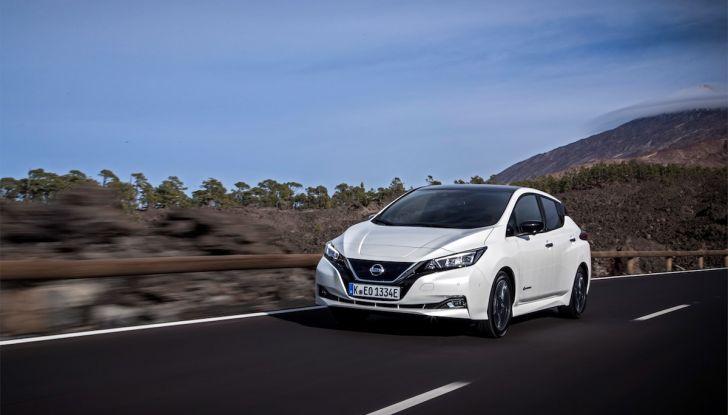 Nissan Leaf 2018, prova su strada della seconda serie: spazio al futuro - Foto 1 di 15