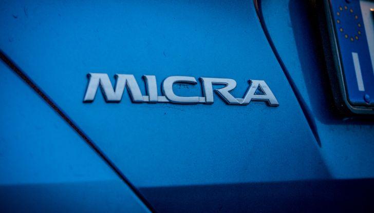 [VIDEO] Prova Nissan Micra 2018 da 71CV: anche per neopatentati! - Foto 10 di 28