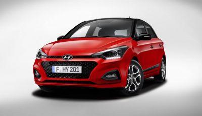 Hyundai i20 2018: più colore, nuovi motori e aggiornamenti tecnologici