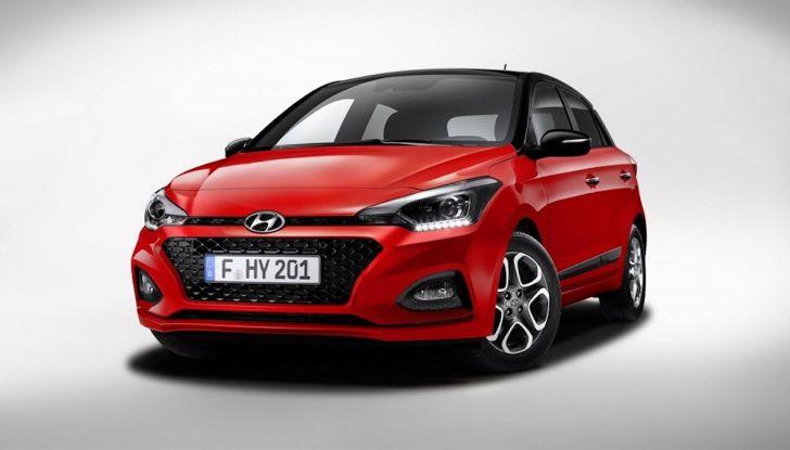 Hyundai i20 2018: più colore, nuovi motori e aggiornamenti tecnologici - Foto 10 di 14