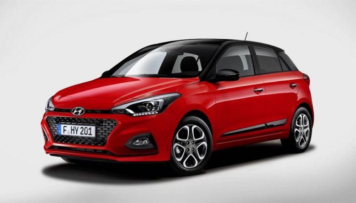 Hyundai i20 2018: più colore, nuovi motori e aggiornamenti tecnologici - Foto 12 di 14