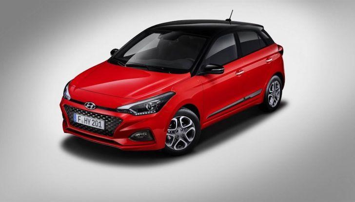 Hyundai i20 2018: più colore, nuovi motori e aggiornamenti tecnologici - Foto 14 di 14