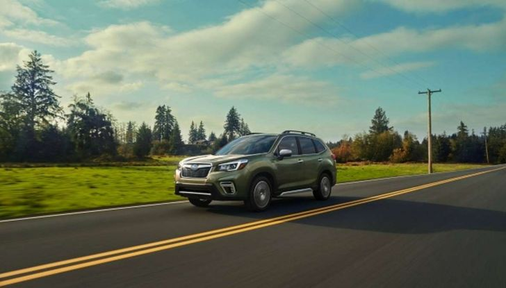 Nuova Subaru Forester 2018, informazioni e dati tecnici - Foto 2 di 18