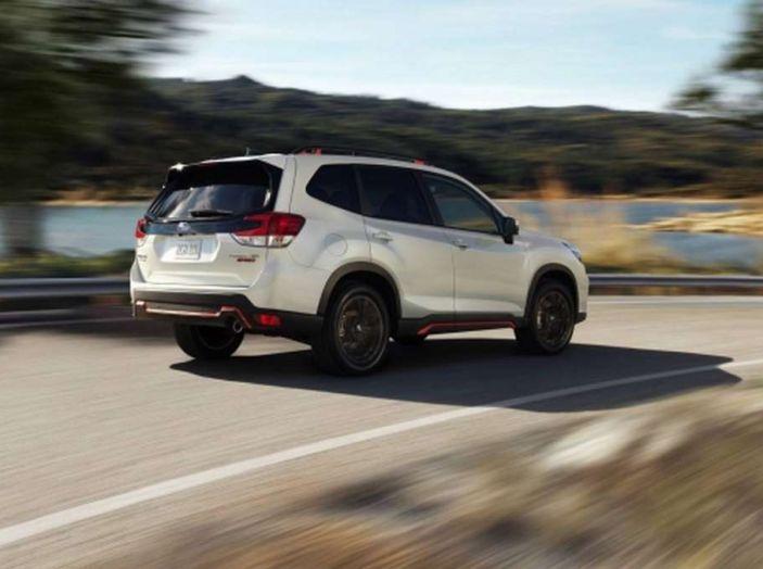 Nuova Subaru Forester 2018, informazioni e dati tecnici - Foto 11 di 18