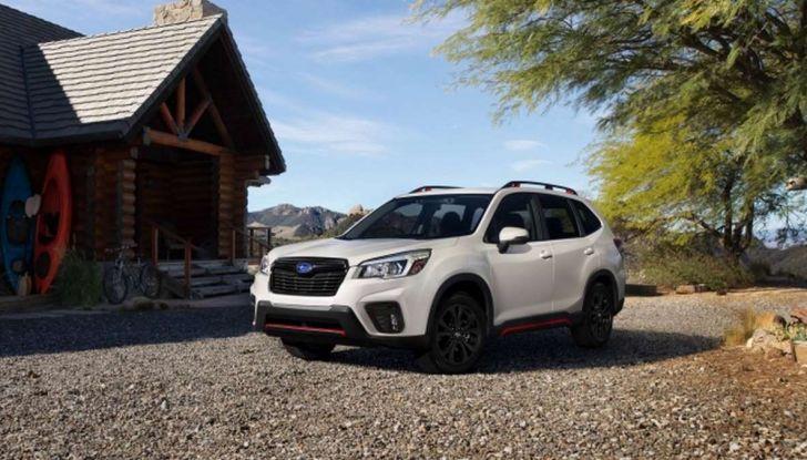 Nuova Subaru Forester 2018, informazioni e dati tecnici - Foto 1 di 18