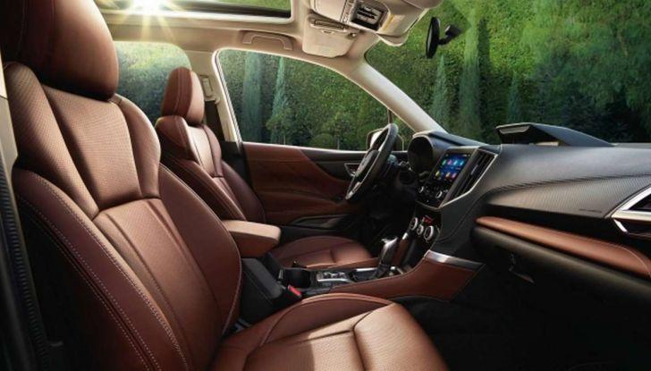 Nuova Subaru Forester 2018, informazioni e dati tecnici - Foto 13 di 18