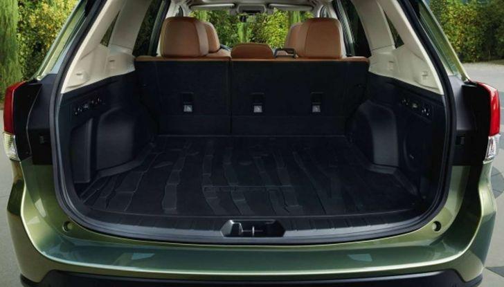 Nuova Subaru Forester 2018, informazioni e dati tecnici - Foto 15 di 18