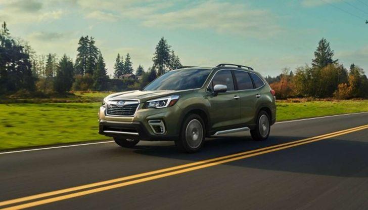 Nuova Subaru Forester 2018, informazioni e dati tecnici - Foto 16 di 18