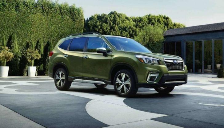 Nuova Subaru Forester 2018, informazioni e dati tecnici - Foto 3 di 18