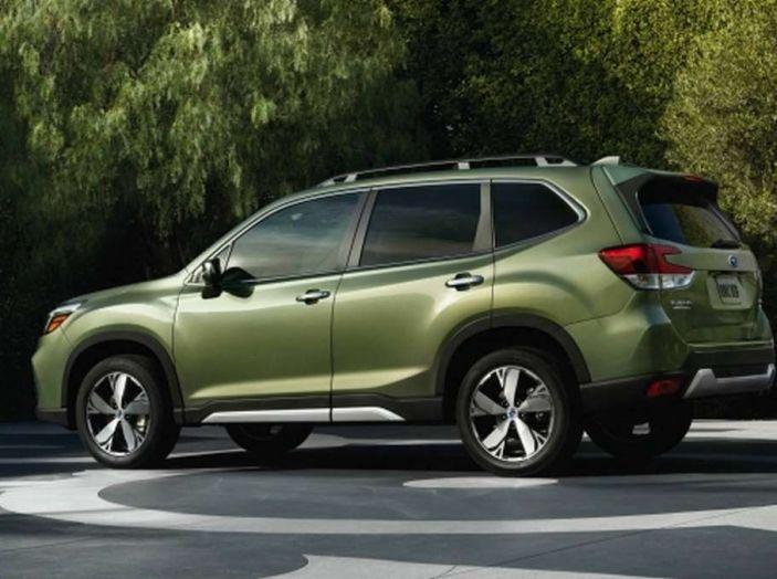 Nuova Subaru Forester 2018, informazioni e dati tecnici - Foto 4 di 18