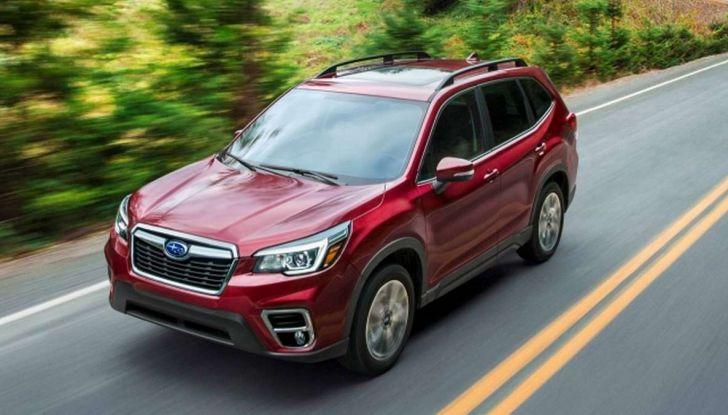 Nuova Subaru Forester 2018, informazioni e dati tecnici - Foto 5 di 18