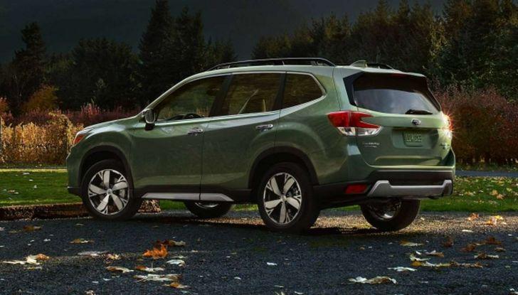 Nuova Subaru Forester 2018, informazioni e dati tecnici - Foto 6 di 18