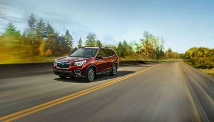Nuova Subaru Forester 2018, informazioni e dati tecnici - Foto 7 di 18