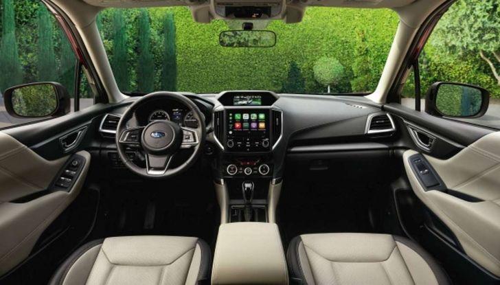 Nuova Subaru Forester 2018, informazioni e dati tecnici - Foto 8 di 18