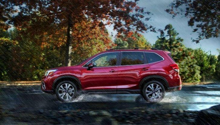 Nuova Subaru Forester 2018, informazioni e dati tecnici - Foto 9 di 18